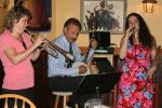 Dixie Rhythm Aces at Persimmons Bistro (photo by DianaTowery)